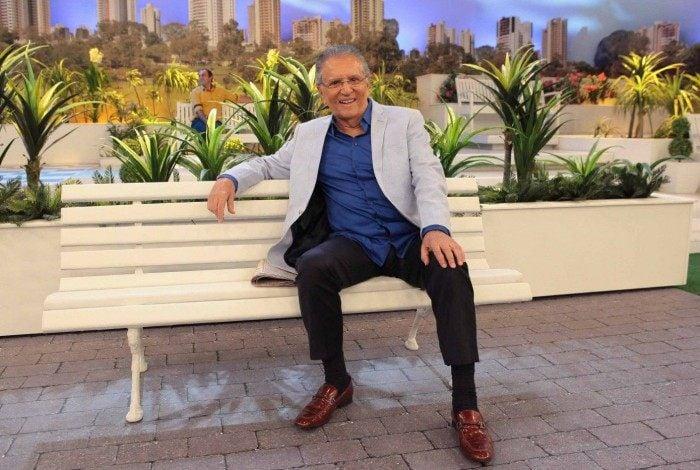 Carlos Alberto de Nóbrega na 'A Praça É Nossa'