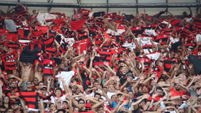 Torcida. Flamengo x Santos - 27/11/2016
