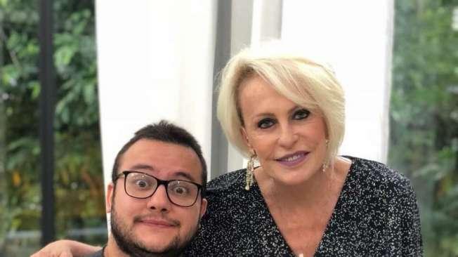 Diego conversou com Ana Maria Braga no 'Mais Voc�' de ontem