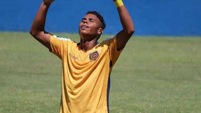 Jogador Rodrigo Mancha do Madureira