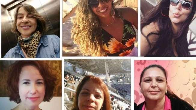 COLUNA - CL�VIS MONTEIRO - Na foto da esquerda para direita de cima: jornalistas Gilza Nunes, Jackie Nascimento, Aline Rocha. Da esquerda para direita parte de baixo: jornalistas Cl�udia Tavares, Denise Rolim e Adriana Maia