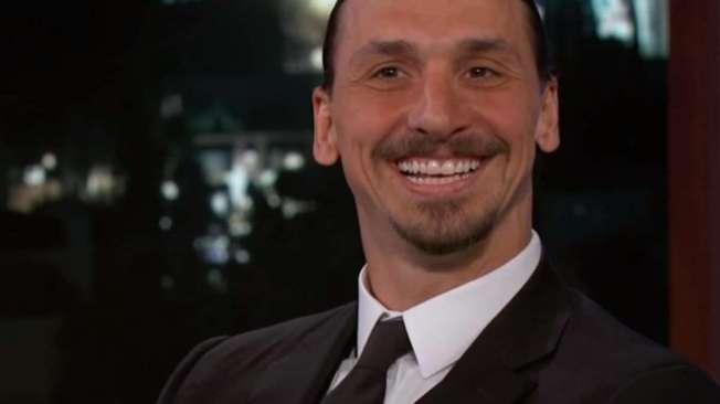 Zlatan Ibrahimovic dá entrevista ao canal ABC