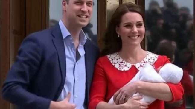 William e Kate mostram seu terceiro filho. O bebê nasceu em 23.04.18, em Londres