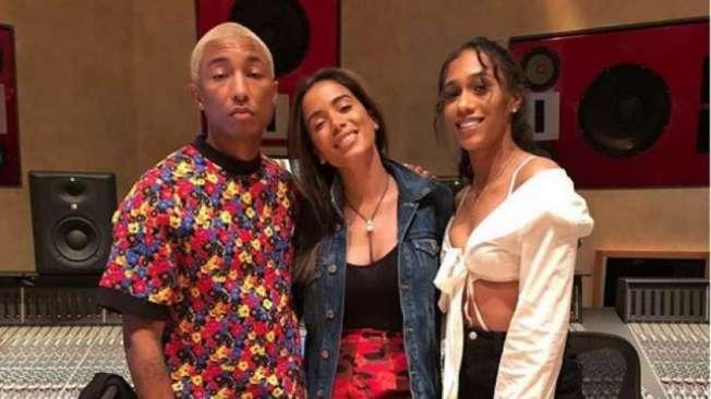 Anitta pode lan�ar m�sica com  Pharrell Williams