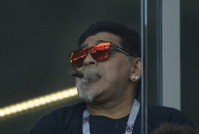 Maradona isentou Messi de culpa