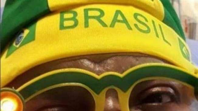 Arlindo Cruz torce pelo Brasil