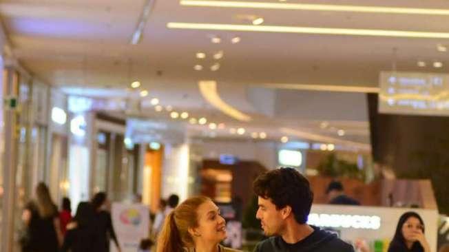 Marina Ruy Barbosa com o marido