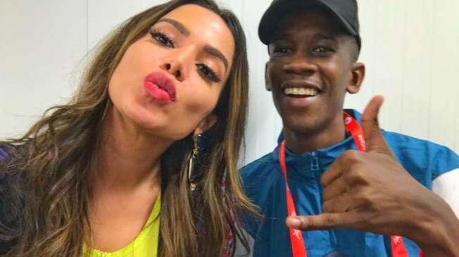 Anitta e DJ Zulu reunidos  no Rock in Rio