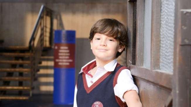 Mario (Theo Medon), em 'As aventuras de Poliana'