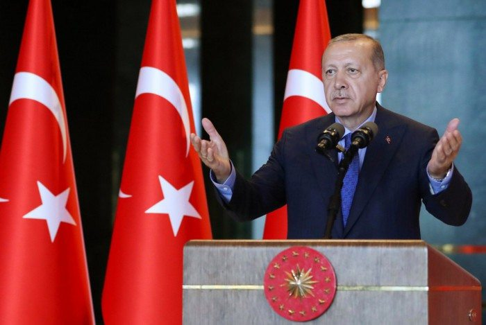 Presidente turco Recep Erdogan