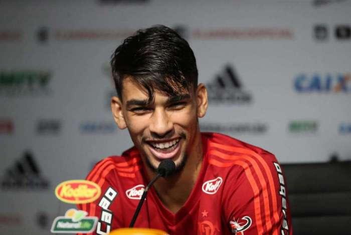 Lucas Paquetá demonstra toda a sua alegria ao comentar a convocação para a Seleção Brasileira