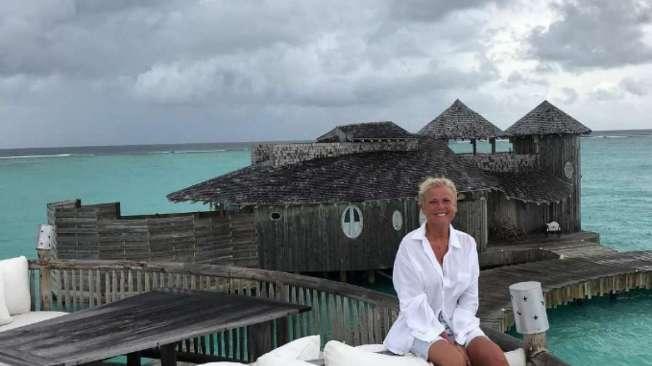 Xuxa relembra viagem �s Maldivas