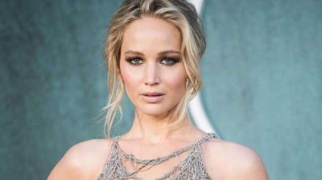 A atriz Jennifer Lawrence teve fotos �ntimas vazadas na Internet