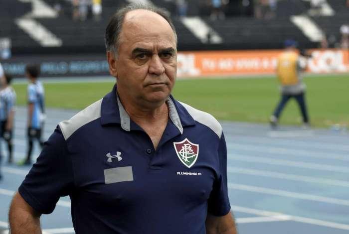 Marcelo Oliveira reconhece o problema, apesar do forte trabalho