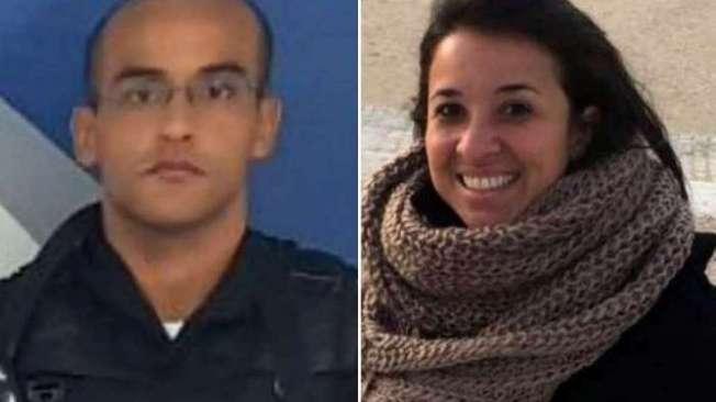 O PM Guilherme e a dentista Priscila foram vítimas do criminoso