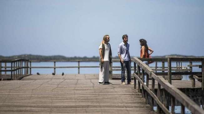 Groa, Beto e Jennifer, em