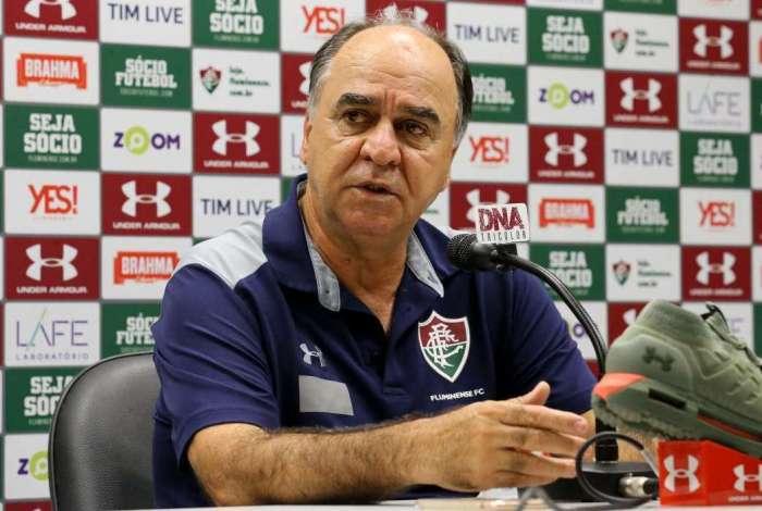 Marcelo Oliveira foi demitido após ser eliminado nas semifinais da Sul-Americana pelo Atlético-PR