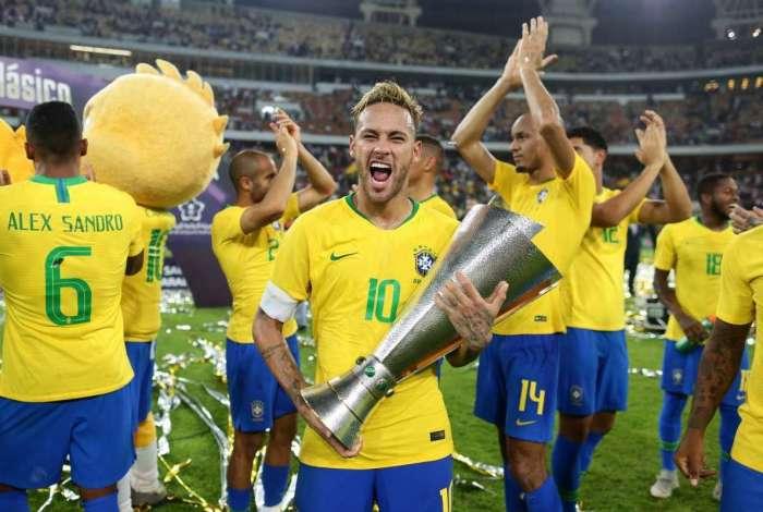 Seleção Brasileira, Brasil, Neymar