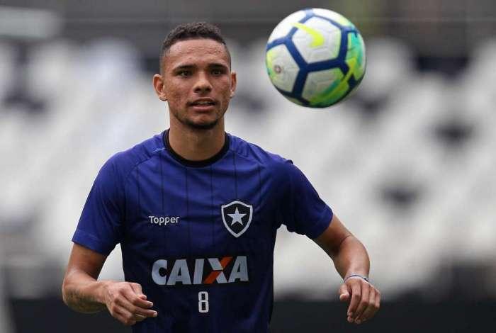 Luiz Fernando será uma das novidades do Botafogo na partida de hoje diante do Palmeiras: substituto de Erik, emprestado pelo clube paulista