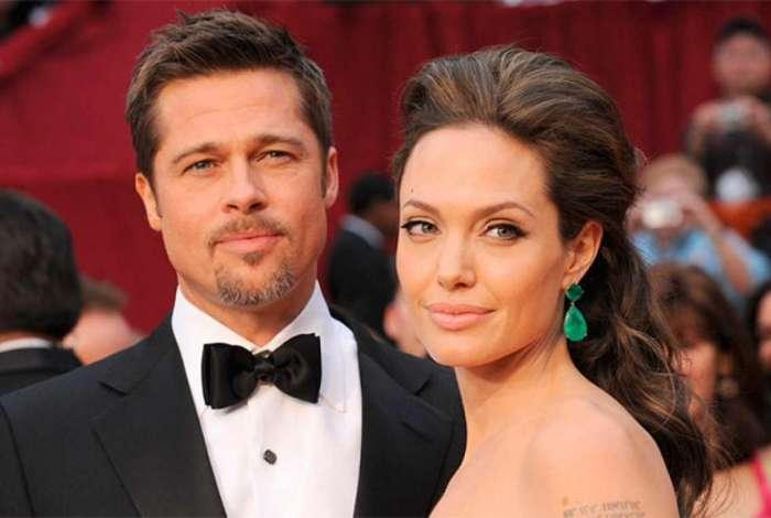 Brad Pitt e Angelina Jolie começaram a separação em 2016