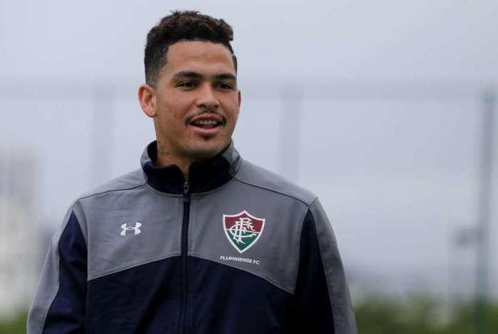 Luciano é uma das esperanças de gol no Fluminense. Atacante vem compondo boa dupla com Everaldo