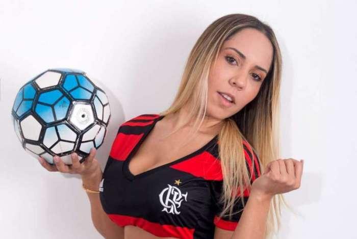 Mulher Melão quer ver Renato Gaúcho treinando o Mengão