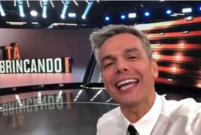 Otaviano Costa comandará na Globo, o programa 'Tá Brincando!'