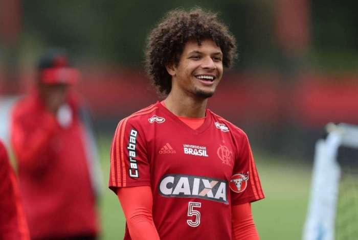 Willian Arão, jogador do Flamengo