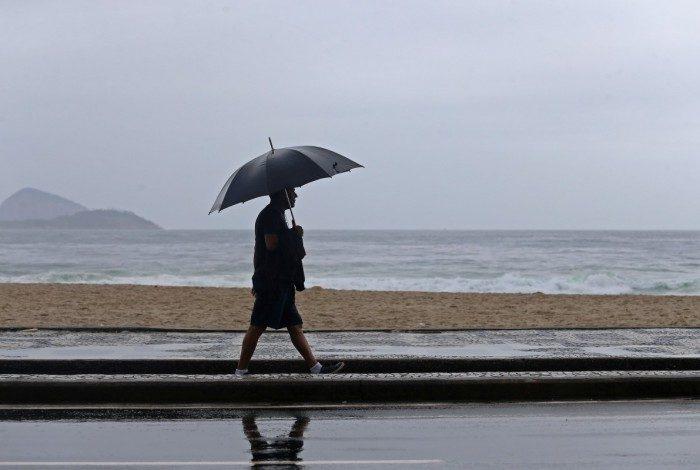 Rio registra tempo nublado neste domingo