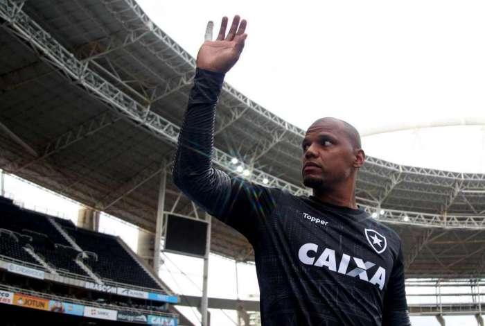 Jefferson. Botafogo x Flamengo pelo Campeonato Brasileiro no Estadio Nilton Santos. 10 de Novembro de 2018, Rio de Janeiro, RJ, Brasil. Foto: Vitor Silva/SSPress/Botafogo.