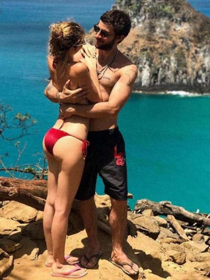 Laura Neiva e Chay Suede reatam namoro
