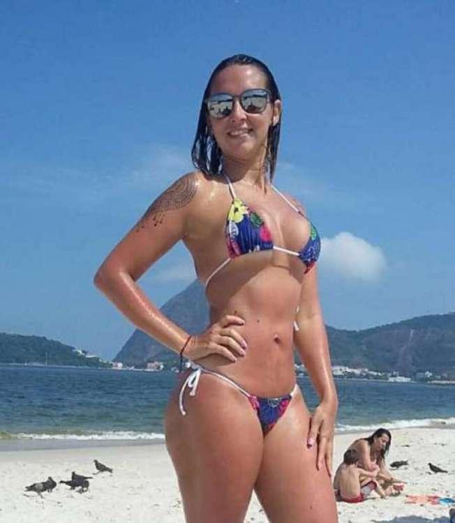 A Taiane Oliveira é torcedora do Vasco