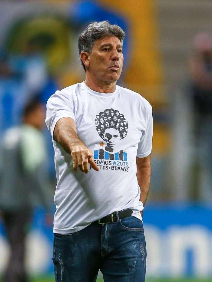 Renato recebe por mês cerca de R$ 730 mil no Tricolor Gaúcho, que apresentou proposta de renovação
