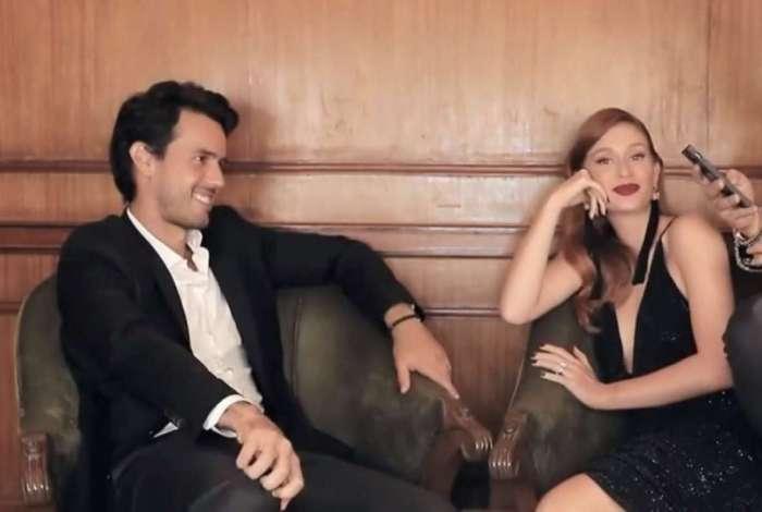 Marina Ruy Barbosa e o marido falam sobre relacionamento