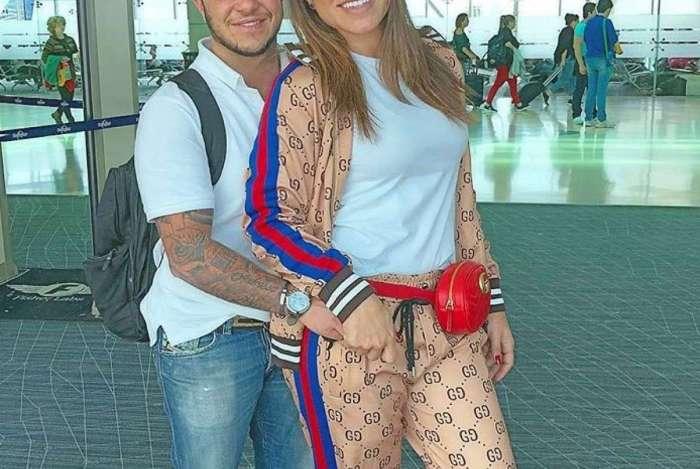 Thammy e Andressa Ferreira