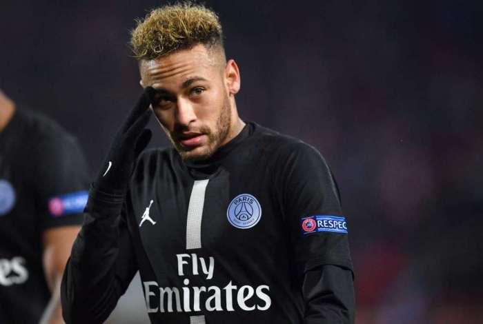 Neymar ficou irritado com boato