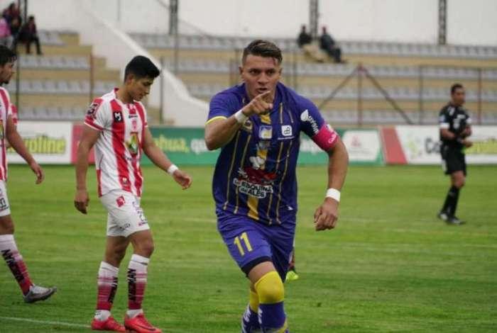 O atacante Carlos Garcés fez 39 gols em dois anos no Equador