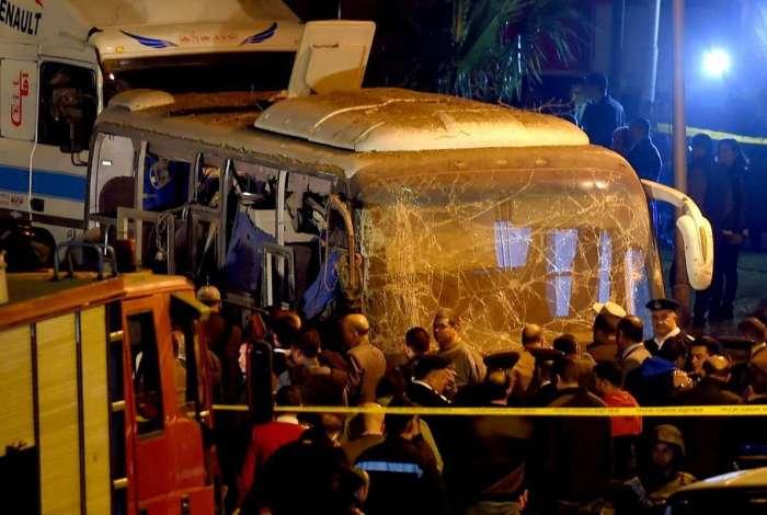 Dois turistas vietnamitas e um guia egípicio morreram no incidente