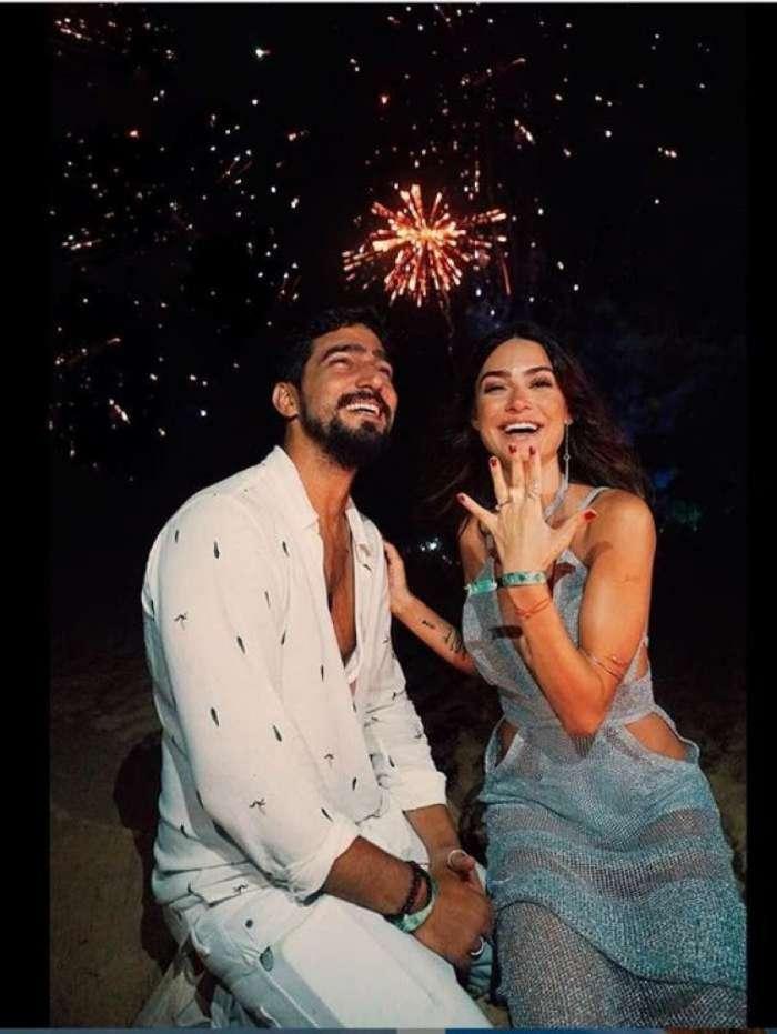 Thaila e Renato Góes estão noivos