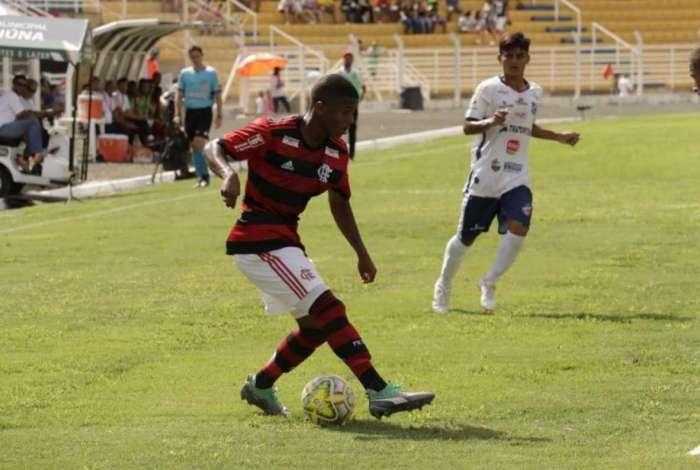 O Flamengo não repetiu a boa atuação da primeira rodada