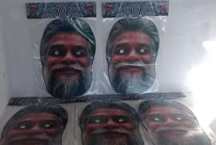 Máscara Fábio Assunção