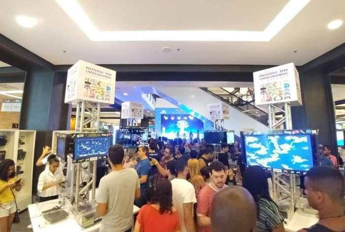Mais de 300 consoles estarão disponíveis para os visitantes