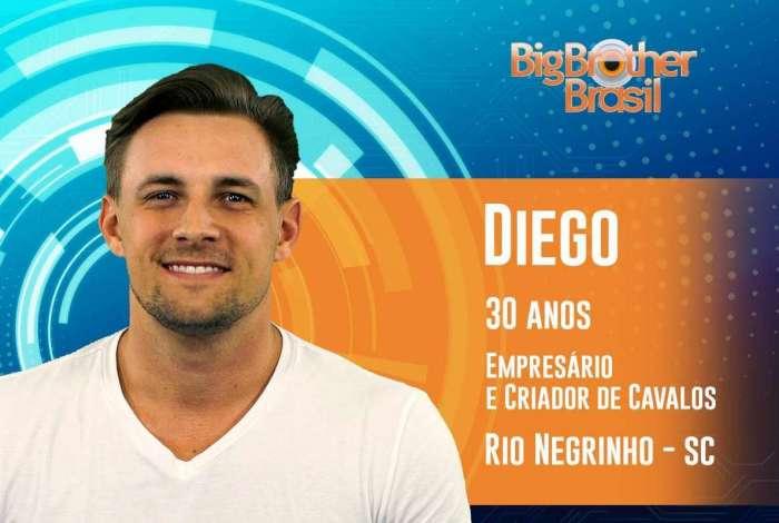 Diego tem como símbolo sexual a cantora Britney Spears