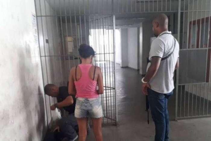 Alexandra foi presa em flagrante