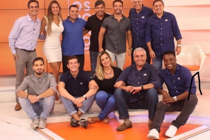 'Os Donos da Bola 2019', da Band, está com uma equipe reforçada, comandada por Edilson Silva  com a participação de Elaine Azevedo