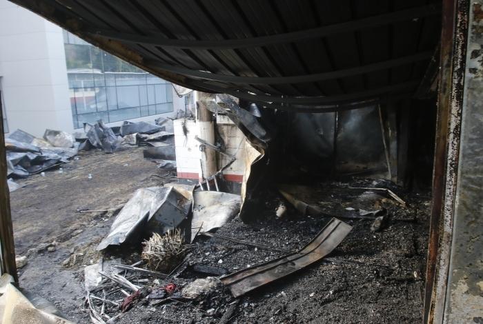 Cenário de destruição: condições eram péssimas