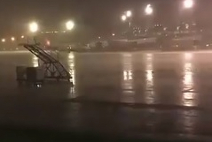 Chuva na Ilha do Governador