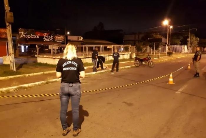 Aproximadamente 40 pessoas estavam na festa no momento do tiroteio