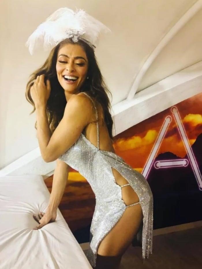 b72784cfb Juliana Paes e seu modelito pra curtir os desfiles na Sapucaí - Reprodução  do Instagram