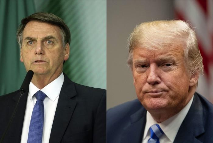Trump vai encontra Bolsonaro em março